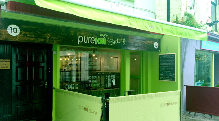 PureRaw Eatery at 10 Upper Abbeygate Street